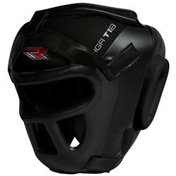 Zero Impact Grill -X Leather Head Guard