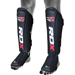 Leather MMA Shin Guards Protector
