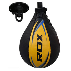 Speed Ball Yellow Leather
