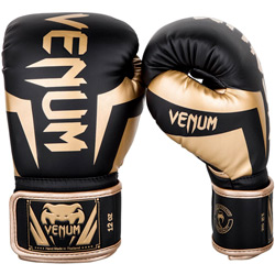 Élite Boxing Gloves Black Gold