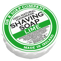 Dr. K. Lime Shaving Soap