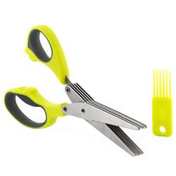 Multi-Blade 5 in 1 Scissors