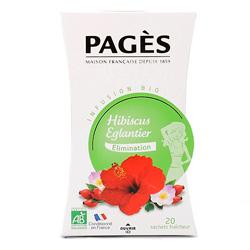 Infusion Hibiscus Eglantier Bio