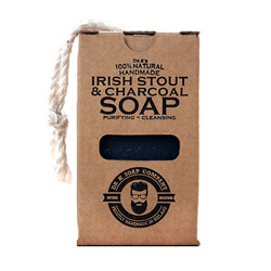 Irish Stout & Charcoal Soap