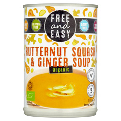 Butternut Squash & Ginger Soup