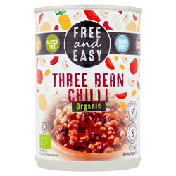 Three Bean Chilli