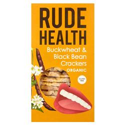 Buckwheat & Black Bean Cracker