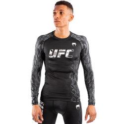 UFC Authentic Fight Week Long Sleeve Rashguard Bla