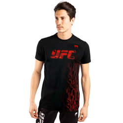 UFC Authentic Fight Week Men Tee Shirt Black